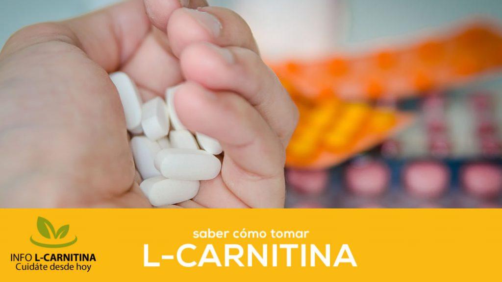 Como Tomar L Carnitina